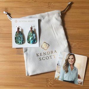 Kendra Scott - Marty Rose Gold Earrings / Abalone